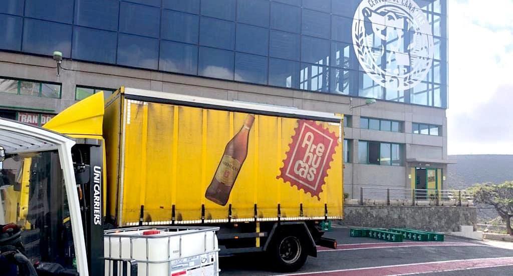 Compañía Cervecera de Canarias colabora con Ron Arehucas