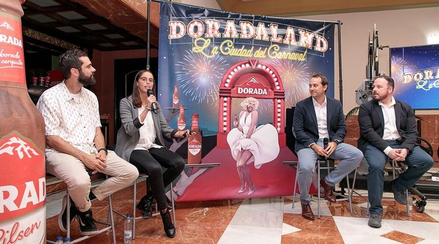 Más de 70 artistas y miembros de agrupaciones carnavaleras participarán en 'Doradaland, la ciudad del carnaval'