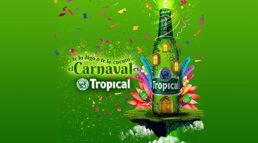 Tropical promueve el uso de vasos reutilizables en el Carnaval de Las Palmas de Gran Canaria