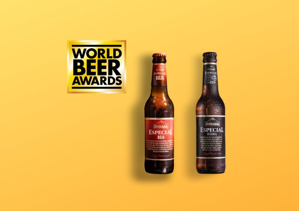 Dorada Especial obtiene dos premios en el World Beer Awards