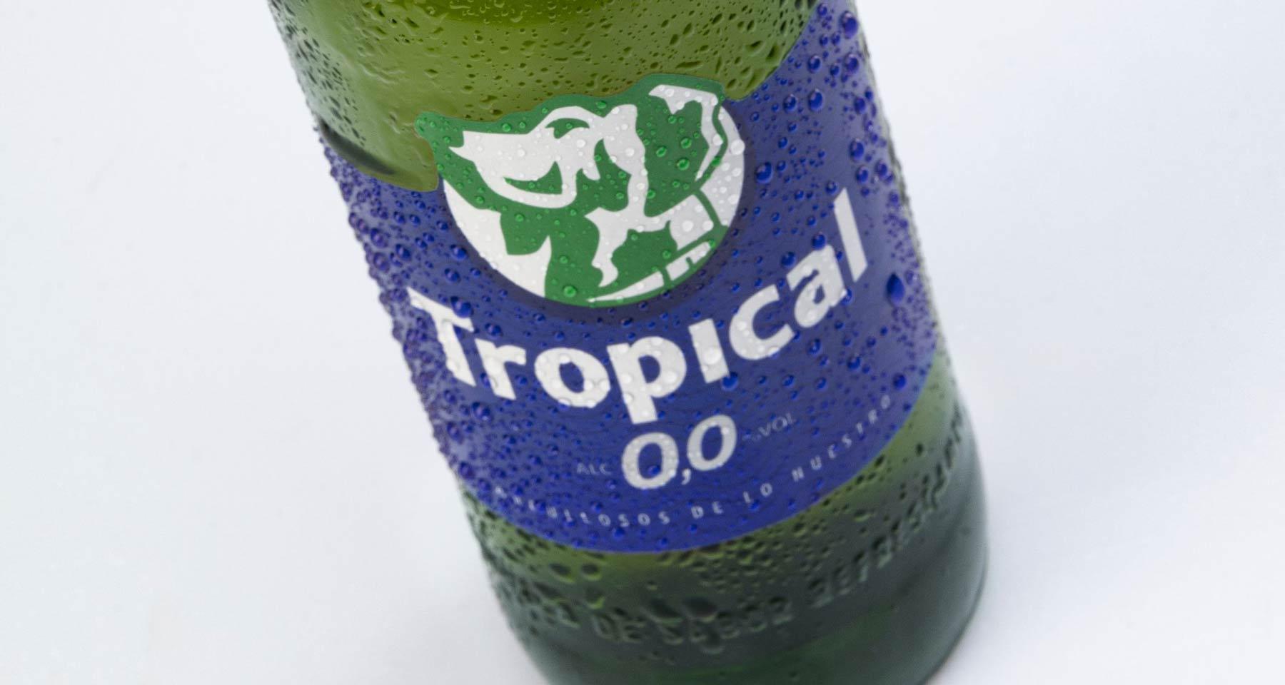 Compañía Cervecera apuesta por la innovación con el lanzamiento de Tropical 0,0