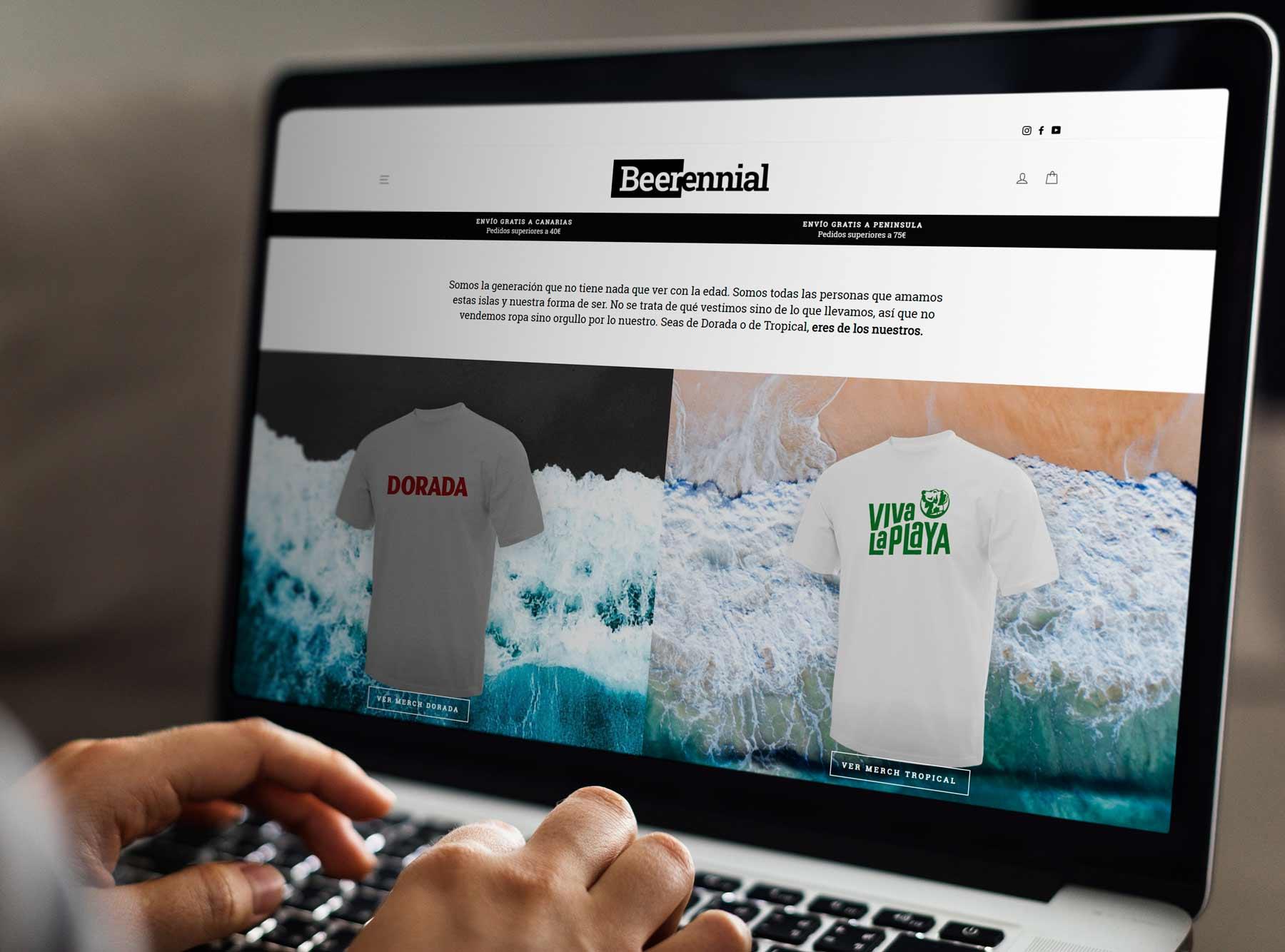 Beerennial, la nueva tienda virtual de Compañía Cervecera de Canarias